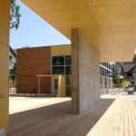 200018SM-Moorbad-Schrems-Ansicht-Flugdach-von-Stiegenabgang-zum-Sportplatz