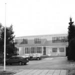 Kindergarten Arbesbach-Außenperspektive Eingangsbereich-transpartent