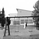 Kindergarten Arbesbach-Außenperspektive Gartenbereich