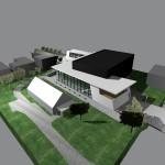 Sonderbauten_200407KR_Konzertsaal Raiding-Vogelperspektive gesamte Gebäude