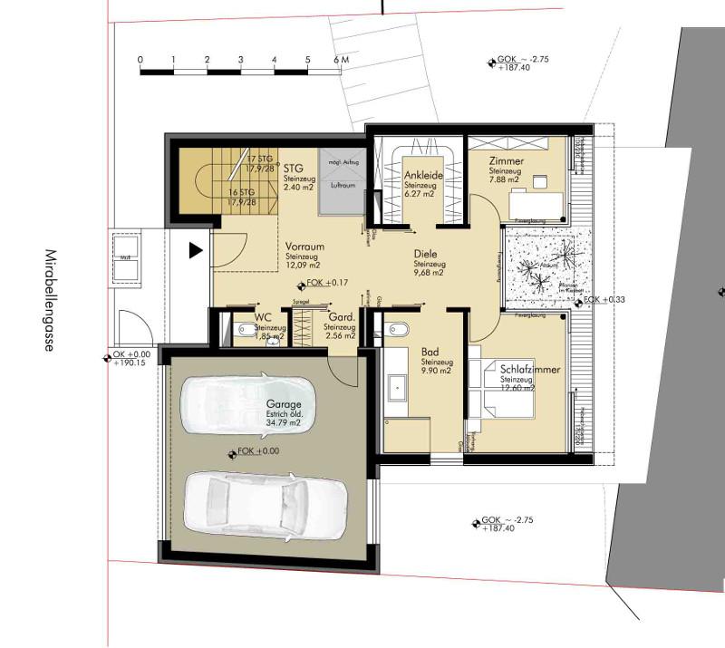 Einfamilienhaus leopoldsdorf konrad segerer architekten for Efh grundriss