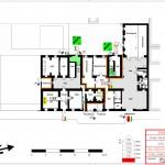 Schule Stadt Wien-Brandschutz Grundriss