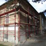 Gesundheitswesen_201414SV_BauKG Pavillon Severin-Gerüst